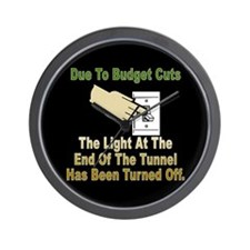 The Light At The End Of The Tunnel is OFF Wall Clo