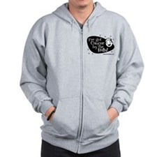 I've Got Cancer by the Balls! Zip Hoodie