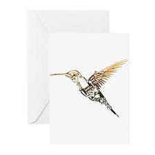Industrial Hummingbird Greeting Cards (Pk of 20)