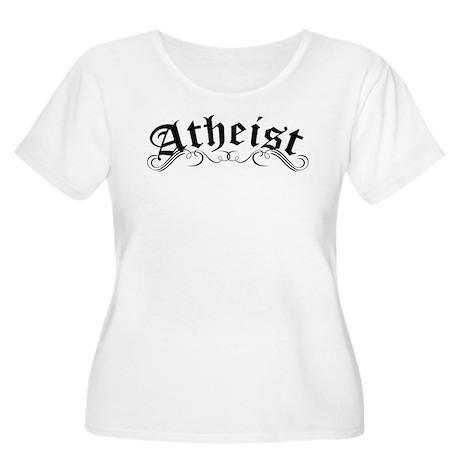 Atheist Plus Size T-Shirt