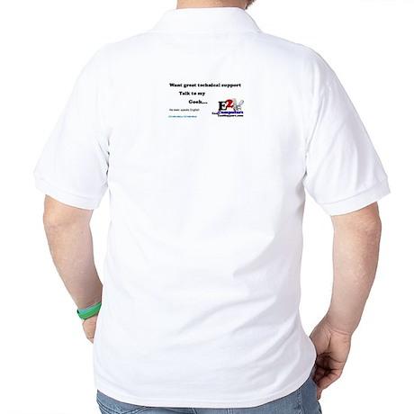 Talk to my geek2 Golf Shirt