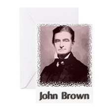 John Brown w text Greeting Cards (Pk of 20)