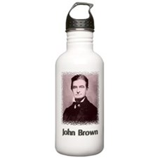 John Brown w text Water Bottle