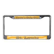 St. Louis License Plate Frame