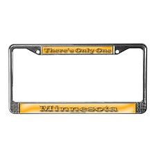 Minnesota License Plate Frame