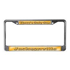 Jacksonville License Plate Frame