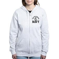 U.S. NAVY --- Zip Hoodie