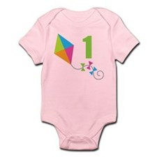 1st Birthday Kite Infant Bodysuit