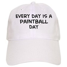 Paintball day Baseball Cap
