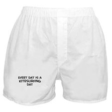 Kitesurfing day Boxer Shorts
