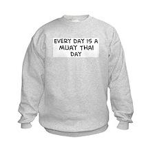 Muay Thai day Sweatshirt