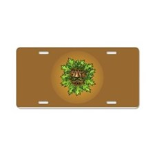 Greenman Aluminum License Plate