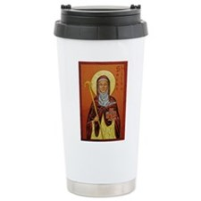 St. Hilda of Whitby Travel Mug