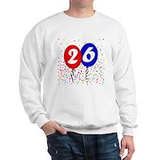 26bdayballoon Sweatshirt