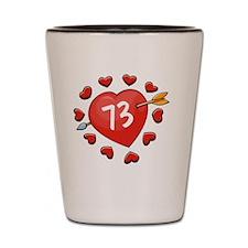 73ahrts Shot Glass