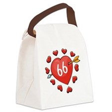 66ahrtbtn Canvas Lunch Bag
