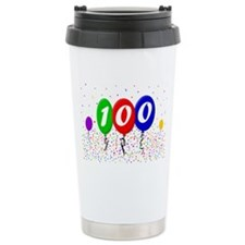 100th Birthday Ceramic Travel Mug