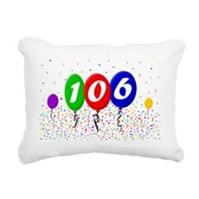106th Birthday Rectangular Canvas Pillow