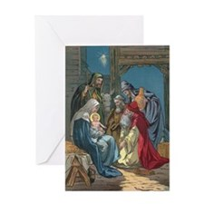 Wise Men Visit Greeting Card
