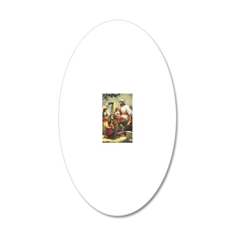 frontis 20x12 Oval Wall Decal