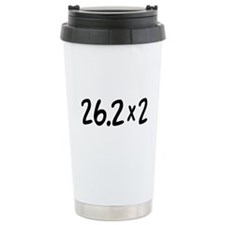 26.2 x 2 Marathon Ceramic Travel Mug