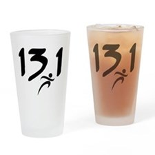 13.1 half-marathon Drinking Glass