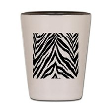 Zebra Skin Vertical Shot Glass
