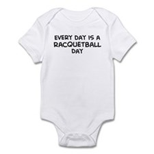 Racquetball day Infant Bodysuit