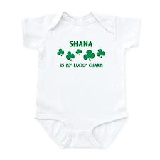Shana is my lucky charm Infant Bodysuit