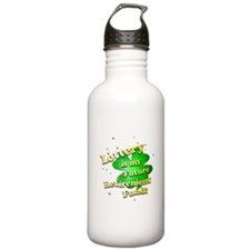 Lottery Retirement Fund Water Bottle