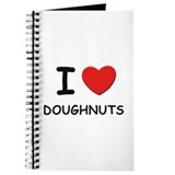 I love doughnuts Journal