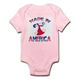 Made n America Infant Bodysuit