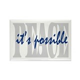 PEACE is possible Rectangle Magnet (100 pack)