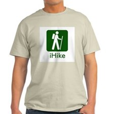 iHike Ash Grey T-Shirt