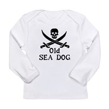 Old Sea Dog Long Sleeve Infant T-Shirt
