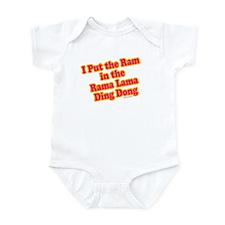 I Put the Ram Infant Bodysuit