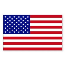 (5 X 3) USA Flag Decal