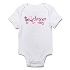 Belly dancer in training: Infant Bodysuit
