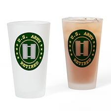 ArmyRetiredCaptain.gif Drinking Glass