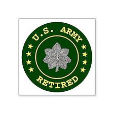 "ArmyRetiredLieutentantColon Square Sticker 3"" x 3"""