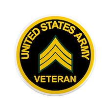 "ArmyVeteranSergeantBlack.gif           3.5"" Button"