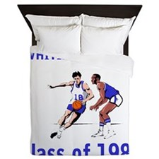 ClarkHighSchool1983Basketball.gif Queen Duvet