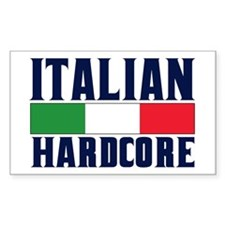 Italian Hardcore Decal