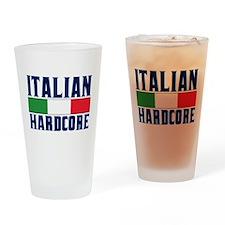 Italian Hardcore Drinking Glass