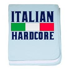 Italian Hardcore baby blanket