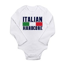 Italian Hardcore Long Sleeve Infant Bodysuit