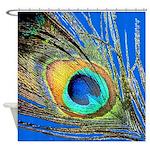 Peacock Feather Eye Shower Curtain