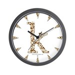 Tortoise Shell k Wall Clock