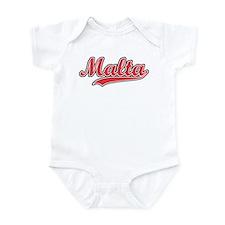 Retro Malta Infant Bodysuit