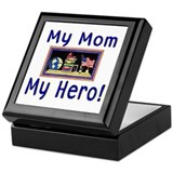 My Mommy, My Hero...Teacher Keepsake Box